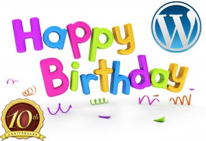 Wordpress turns 10
